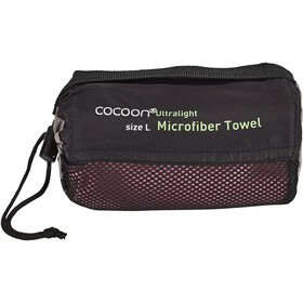 Cocoon Microfiber Towel Ultralight Large marsala red